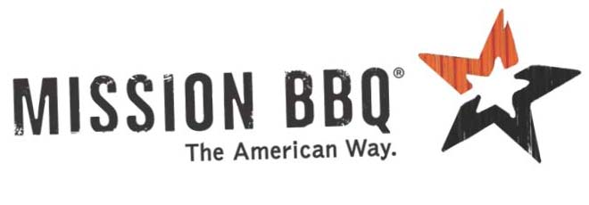 Logo of Mission BBQ & link to the website